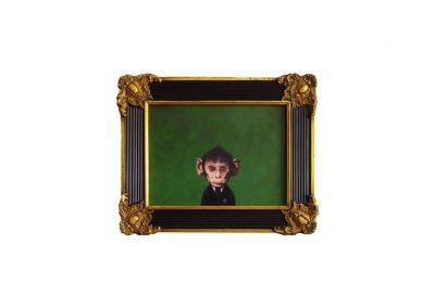 Retrato Ilustre CXXV, 47 x 56,5 cm, 2016