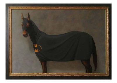 Bathorse, oil on wood, 170 x120, 2019
