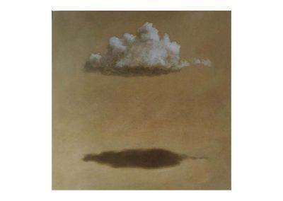 15-Estudio para un retrato VIII, oil on wood, 114 x 114 cm, 2000