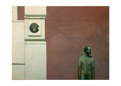 17-ID vs Ego IV, oil on canvas, 160 x 200 cm, 2002