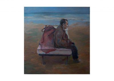 22-Paisaje III, oil on canvas, '160 x 160 cm, 1997
