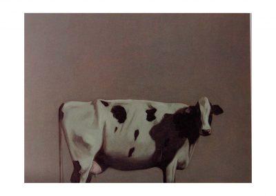 28- Estudio para un paisaje VI, oil on wood, 100 x122 cm, 2001